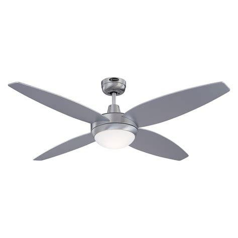 westinghouse ceiling fan light westinghouse havanna brushed aluminium ceiling fan light