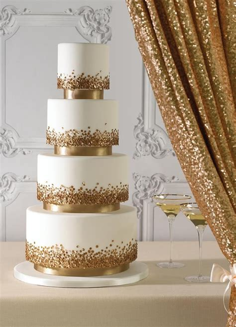 Wedding Cake Ideas 2016 by 24 Fab Glittery And Sparkling Wedding Cake Ideas For 2016