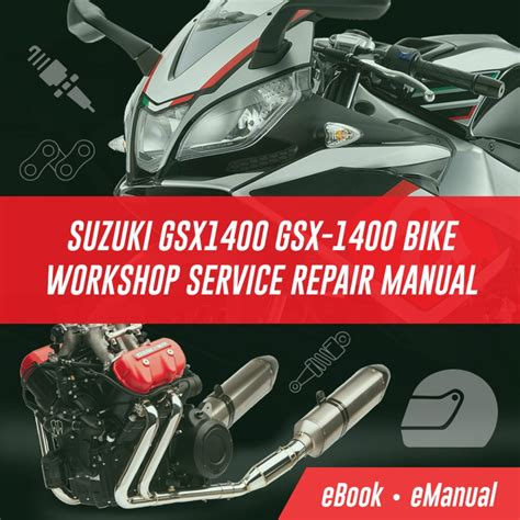 Suzuki Gsx1400 Gsx 1400 Workshop Service Repair Manual