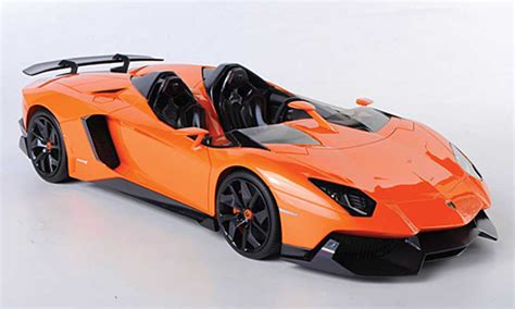 Lamborghini Aventador In Orange Lamborghini Aventador J Orange 2012 Mr Collection Diecast