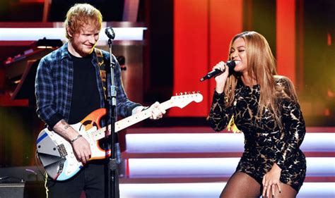 ed sheeran xmas ed sheeran with beyonce are christmas number 1 favourites
