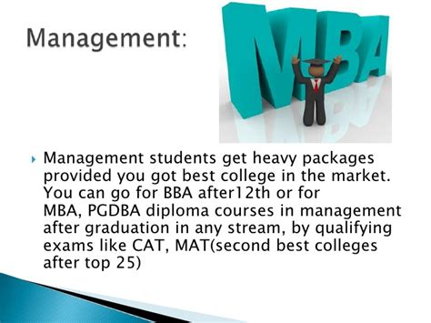 Best Branch For Mba For by What Career To Choose After12th