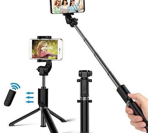 bovon selfie stick stativ mit bluetooth fernausl 246 ser selfie stangen ausfahrbar 360 176 rotation