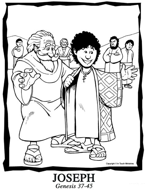 printable bible coloring pages joseph bible coloring pages