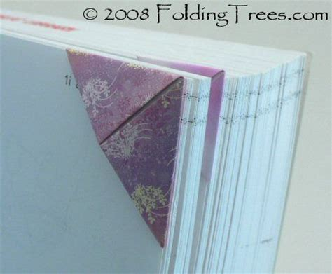 Folded Paper Corner Bookmark - origami bookmark better than others origami bookmark
