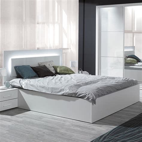 lit adulte led chambre adulte design blanc 5 lit led estein design