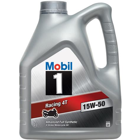 mobil 1 15w50 mobil 1 racing 4t 4 stroke fully synthetic 15w 50