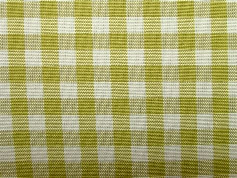 Green Check Upholstery Fabric by Clarke Pistachio Green Woven Gingham Check Cotton Designer