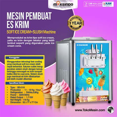 Jual Freezer Es Krim Mini jual mesin es krim soft lengkap di surabaya