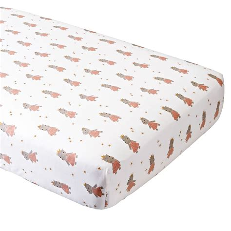 Fitted Crib Sheet by Fitted Crib Sheets The Land Of Nod