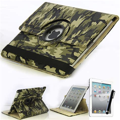 Mini 1 2 3 Army Casing Cover Abri Armor Defe T1310 1 apple army camouflage leather 360 rotating stand cover 2 3 4 ebay