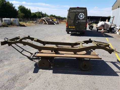 jeep chassis willys jeep chassis jeeps milweb classifieds