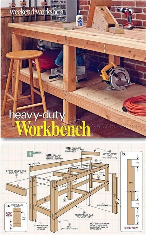workbench designs for garage best 20 workbench designs ideas on shop