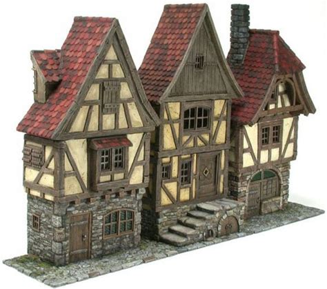 great medieval house plan miniatures pinterest ciantys tabletop wargames blog townhouse front