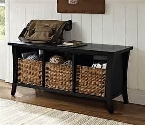 entryway bench with storage baskets entryway storage bench with baskets