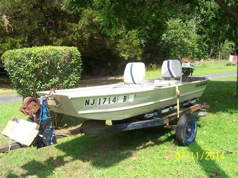 flat bottom boat new flat bottom aluminum boat motor and trailer new jersey