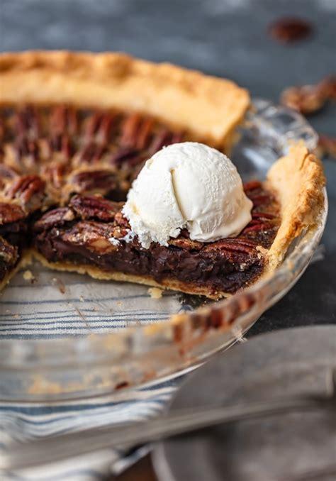 chocolate pecan pie recipe chocolate bourbon pecan pie