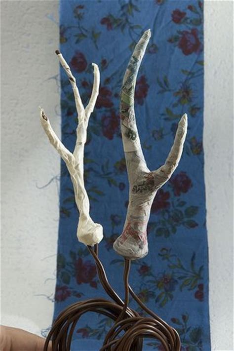 How To Make Paper Mache Antlers - the world s catalog of ideas