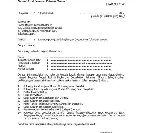 vacancy contoh surat lamaran iii
