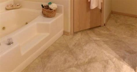 How To Lay Travertine Floor Tiles by How To Lay A Quot Travertine Quot Vinyl Tile Floor With Grout