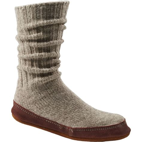 mens slippers socks acorn slipper sock s backcountry