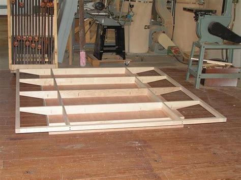 floating bed frame plans floating bed frames constructed beds pinterest
