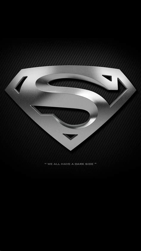 black superman logo wallpaper iphone   iphone