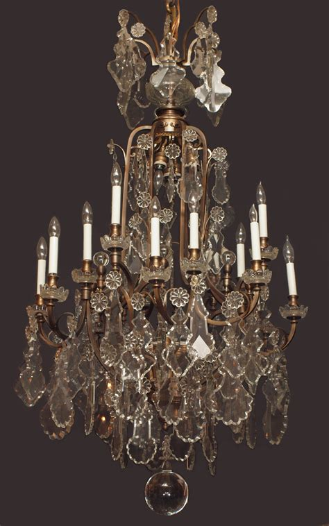 Antique Chandeliers For Sale Antique Baccarat Chandelier Chc9 For Sale Antiques Classifieds