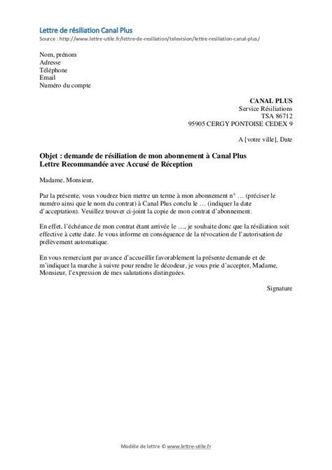Exemple De Lettre Resiliation Mutuelle Sante Modele Lettre De Resiliation C Document