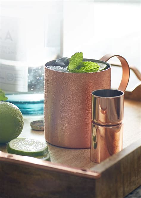 metal trend copper home decor crate and barrel