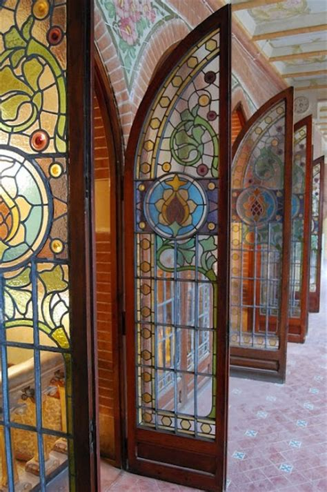 Stained Glass Windows For Doors Stained Glass Exterior Door Gate