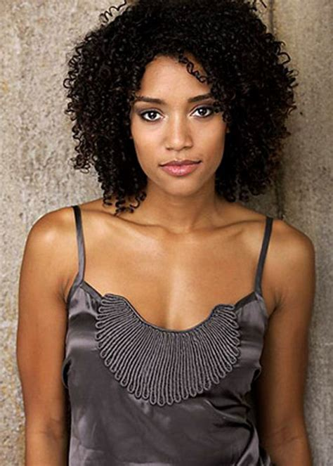 natural black hair poofy and wavy annie ilonzeh photos