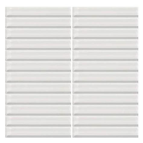 daltile color wave daltile color wave glass cw01 white 1 x 6