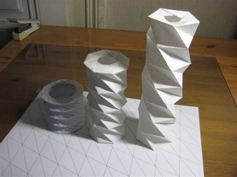twisted origami western origami mechanism reaches new 3d