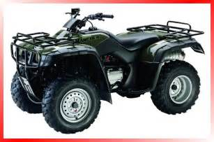 Honda Atv Rancher Atv Source Manufacturers Honda 2003 Rancher 4x4