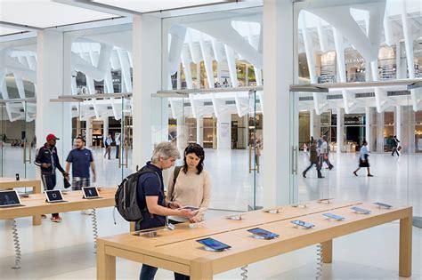 apple store opens inside the world trade center oculus
