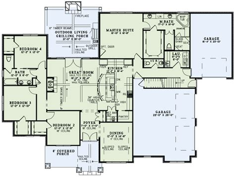 one floor living house plans house plan 82230 at familyhomeplans com