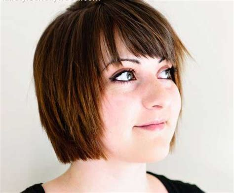 chin length haircuts with bangs coolest chin length hairstyles 2016 hairstylesco