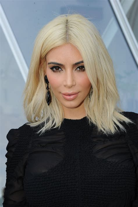 kim kardashian grey blonde hair kim kardashian s blond hair 5 products to maintain your