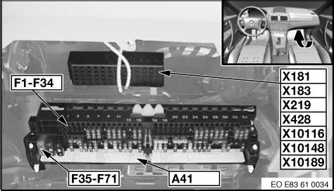 bmw x3 fuse box fuse diagram on a bmw e60