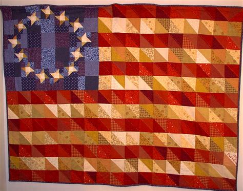 Flag Quilt by Quilting Page