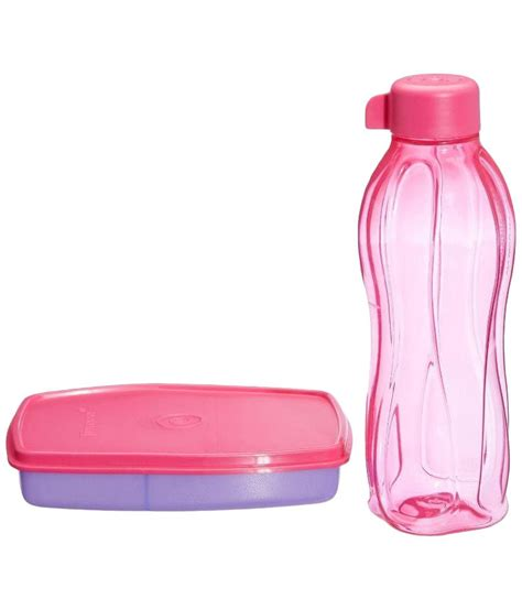 Tupperware Xtreme Lunch Set Box Bottle tupperware small slim lunch box with water bottle