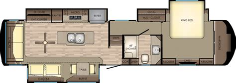 redwood rv floor plans redwood model rw382 3821rl by redwood rv
