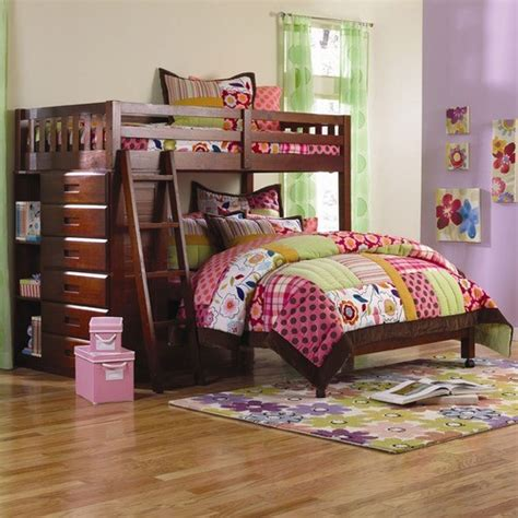 Dwf1154weston Twin Over Full L Shaped Bunk Bed With L Shaped Bunk Beds With Storage
