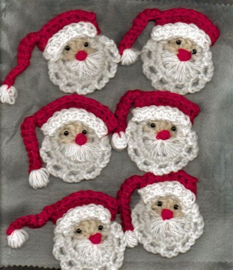 crochet christmas crafts personalized photo ornaments make handmade crochet craft recipes