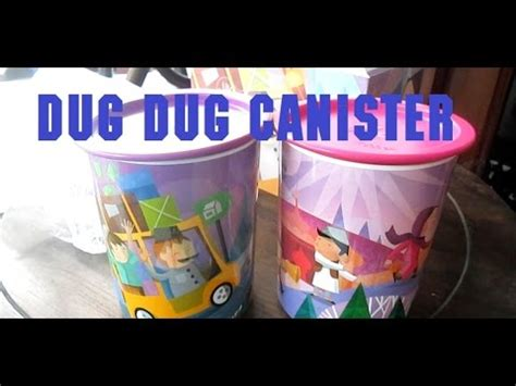 Dug Dug Canister dug dug canister tupperware