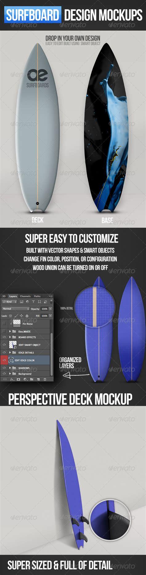 mockup design layout surfboard mockups surfboards mockup and design layouts