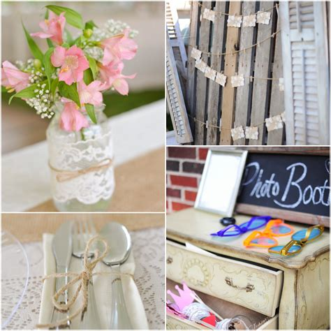 country do it yourself wedding rustic wedding chic