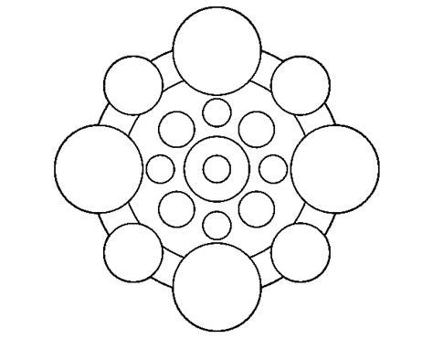 imagenes redondas html dibujo de mandala con redondas para colorear dibujos net