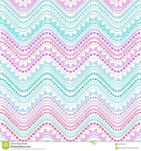 tribal pattern zigzag tribal zigzag pattern stock vector image 62352676